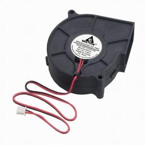 75 x30mm Blower, 2-wire, 24 volts,  28 amps, 6 72 watts, 4500 rpm GETT Part  FAN112